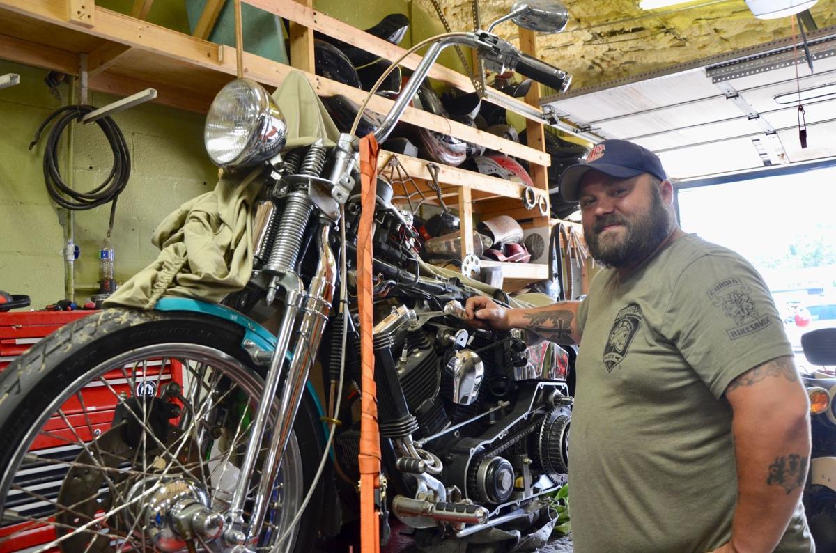Operation Combat Bikesaver rebuilds motorcycles, veterans' lives