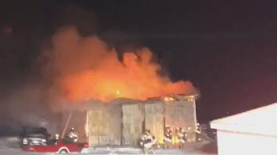 Boone Grove Fire