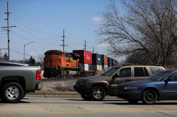 Rail traffic rolls on in region