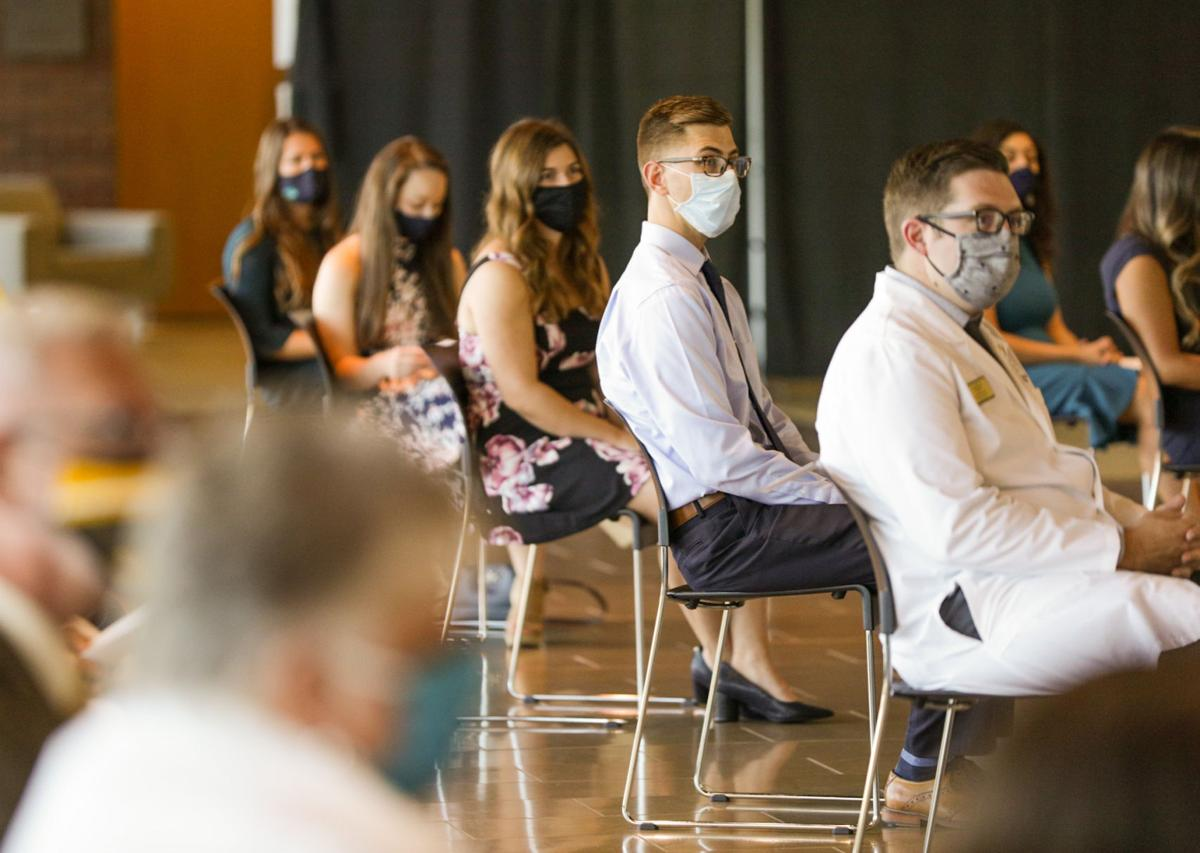 VU celebrates first physician assistant graduates in white coat ceremony