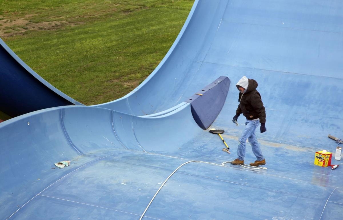 Seven Peaks Waterpark Duneland prepares for June 6, 2015 opening