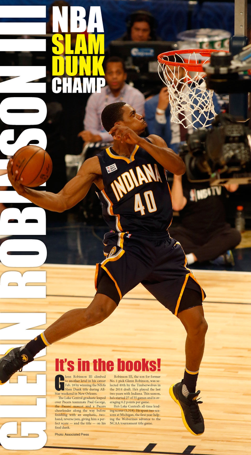 Glenn Robinson III poster