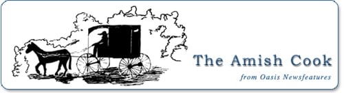 Original Amish Cook Horse and Buggy Logo