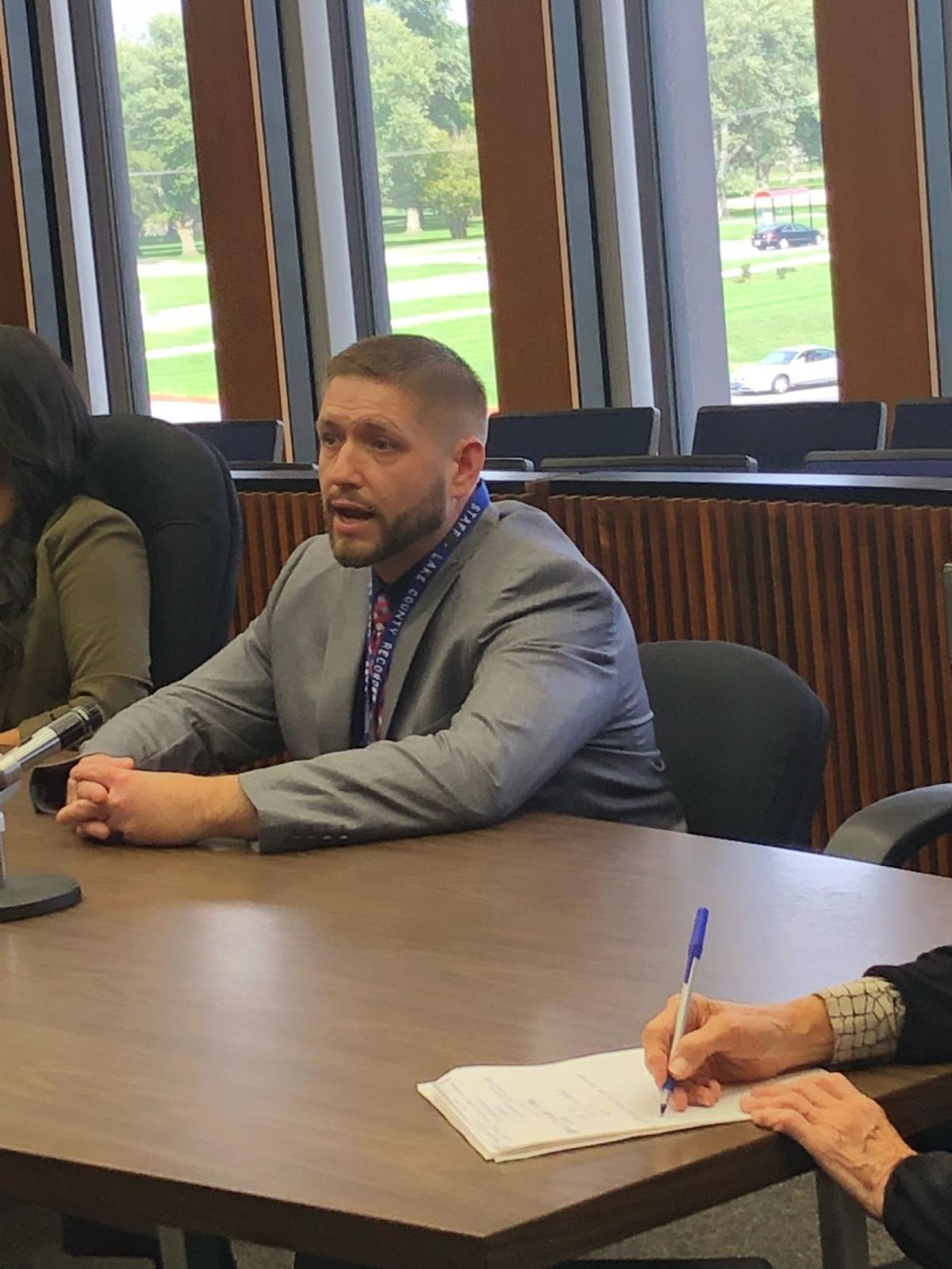 Absentee Lake County recorder promises to show up for work 'at least four or five days a week'