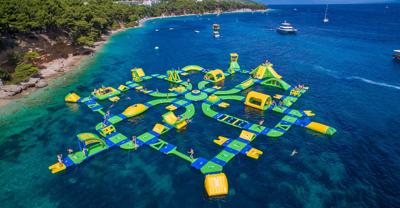 Floating water park coming to Lake Michigan beach