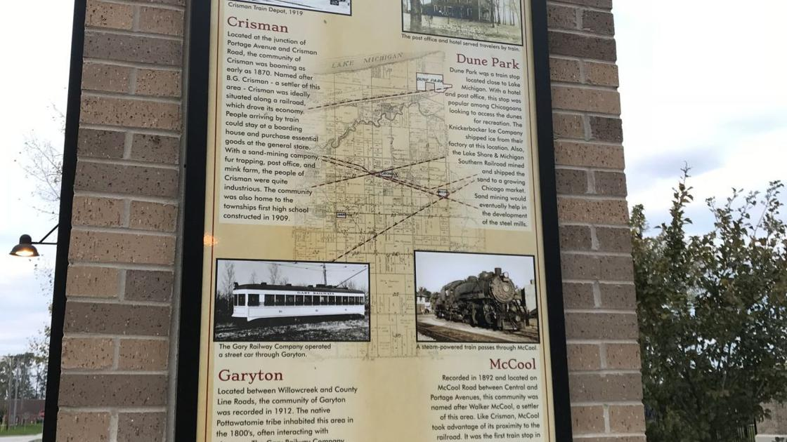Portage highlights its history in series of posters at Founders Square Park