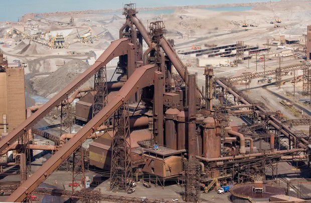 Great Lakes steel output rises by 18,000 tons