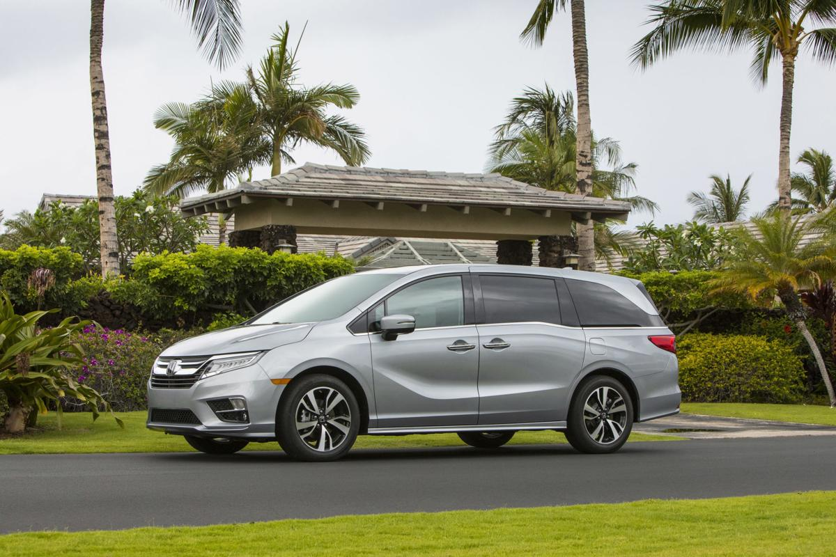 Behind The Wheel Pacifica Or Odyssey