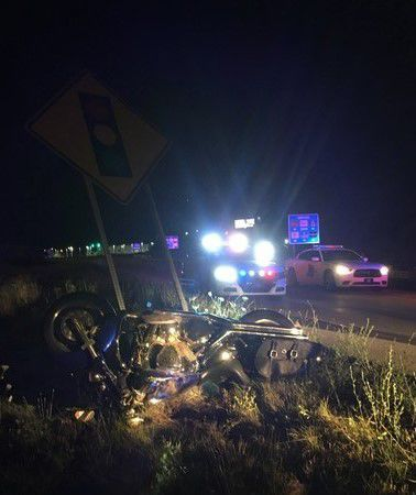 Man dies in motorcycle crash on I-65, police say | Crime and