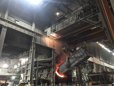 Steel production up by 5 percent this year