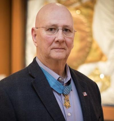 Medal of Honor recipient speaks at Salvation Army's civic dinner