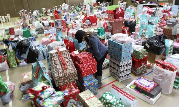 The Salvation Army Distributes Angel Tree Gifts To 1,700