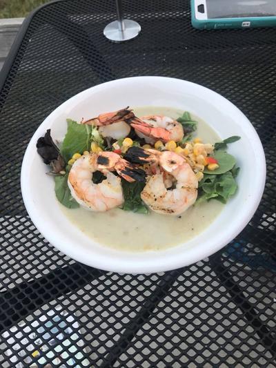 TASTE TEST: Byway Brewing's shrimp gazpacho cold salad a light summery treat