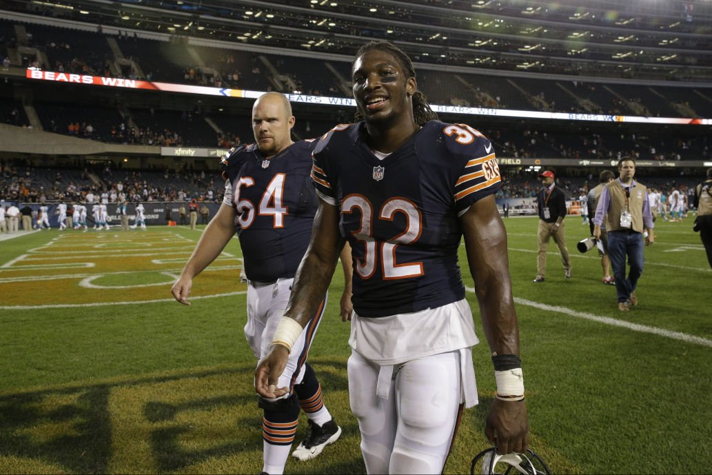 Bears' Montgomery a natural fit on offensive line | Chicago Bears ...