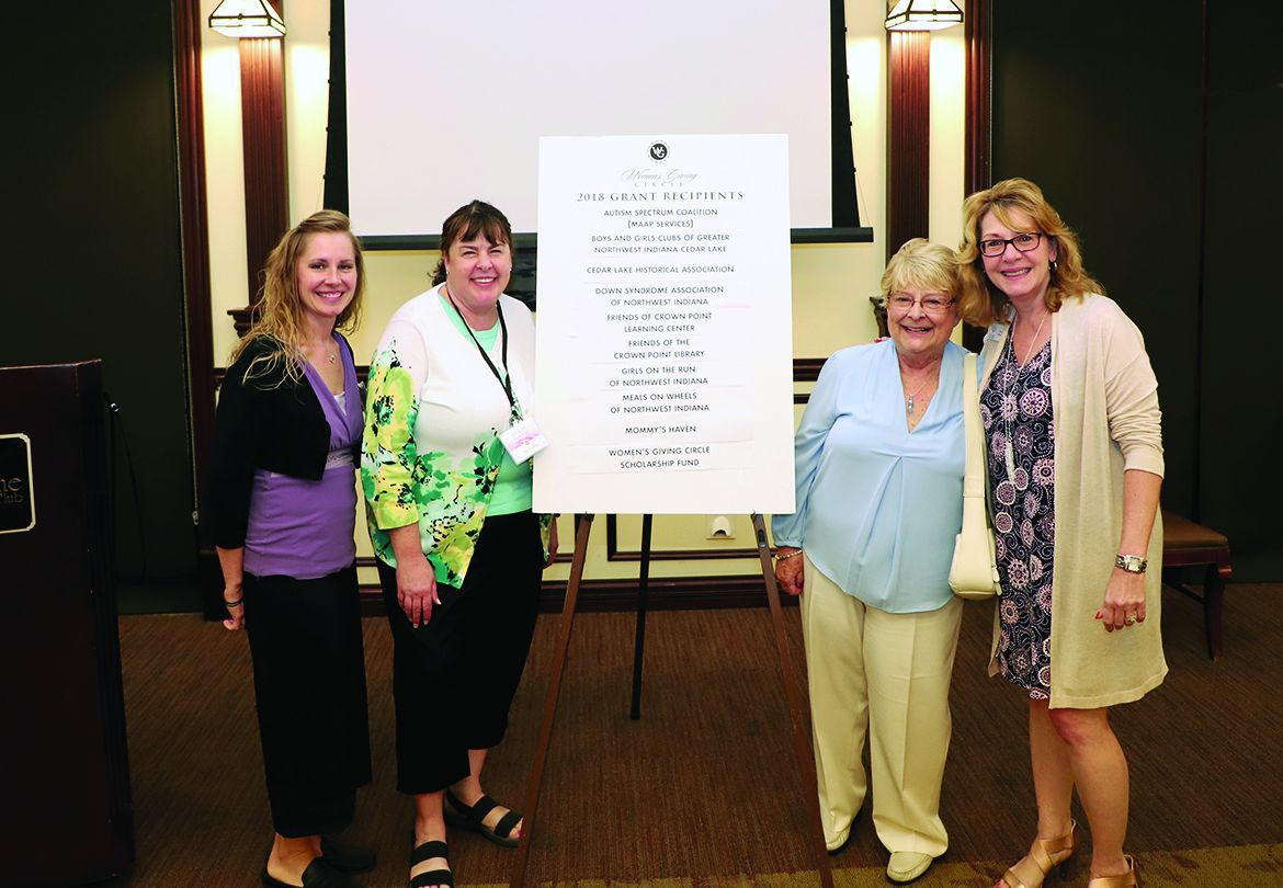 Crown Point Community Foundation fair marks a decade of recruiting volunteers