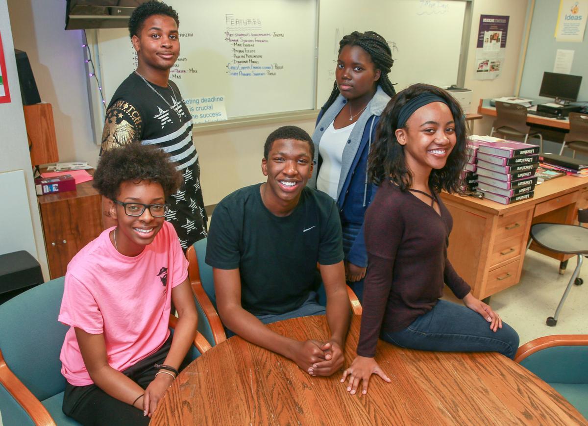 Merrillville High School students - Indiana's Mock Trial