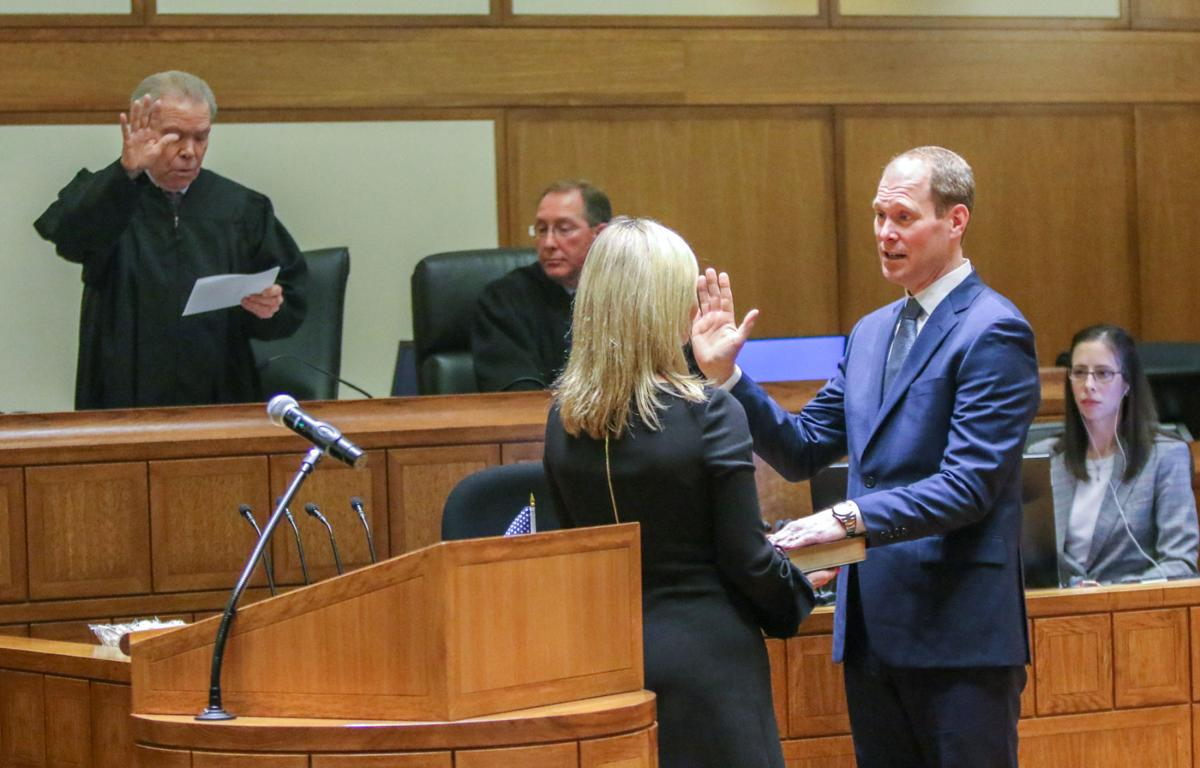 Investiture ceremony for new U.S. Attorney Thomas Kirsch II