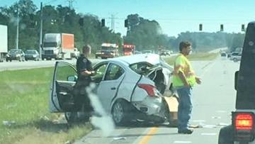 UPDATE: 1 airlifted after crash on Indiana 49 | Porter