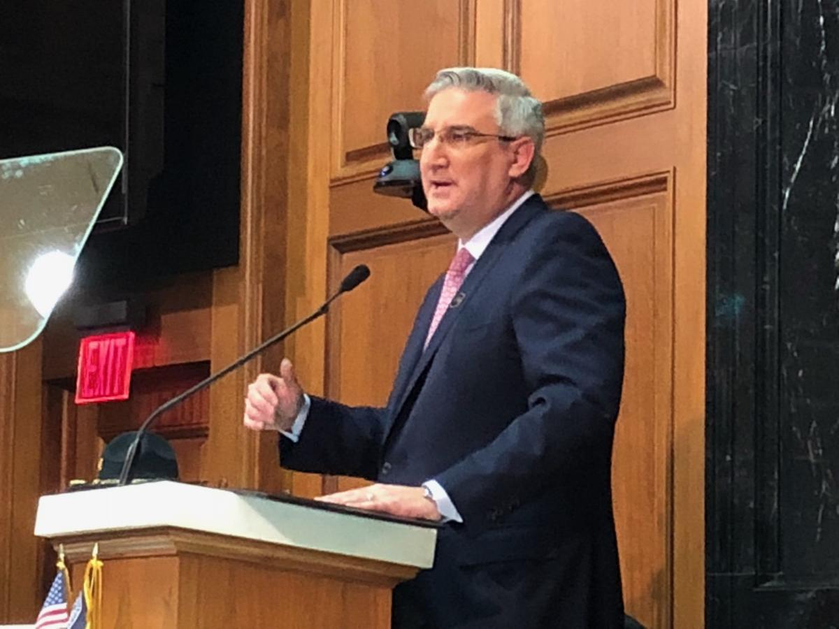 Teacher pay, quality workforce are centerpieces of Gov. Holcomb's State of the State address