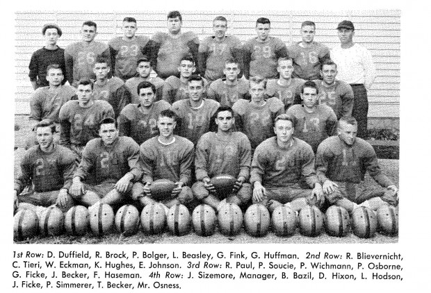 1952 Crete Monee Football Team Went Undefeated Nwi Preps