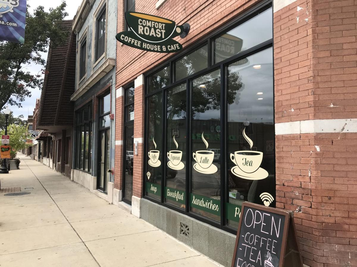 New coffee shop caffeinating downtown Whiting