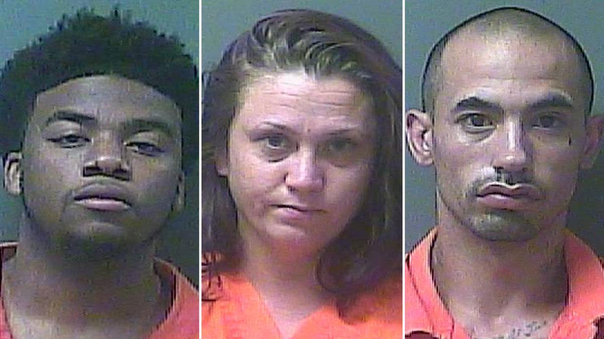 Sheriff's jail kitchen employee among 3 arrested for