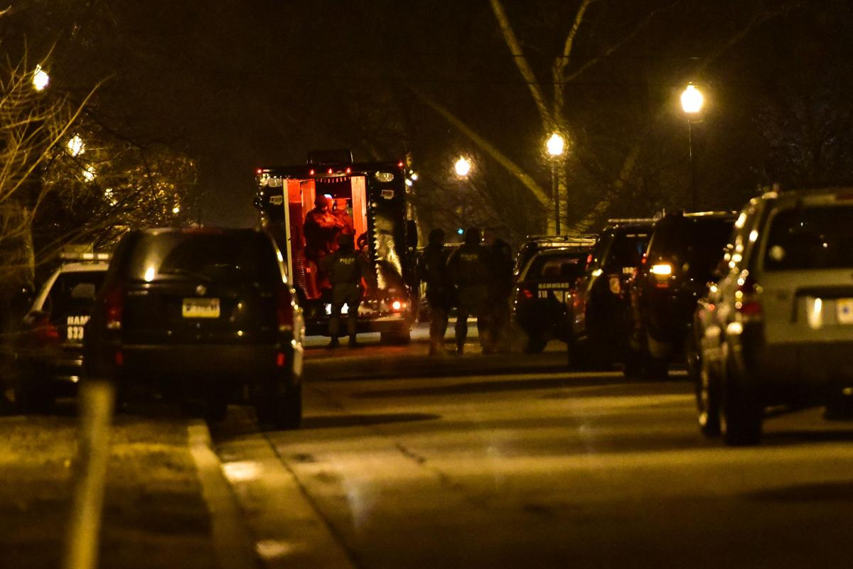 Hammond police standoff ends in apparent suicide