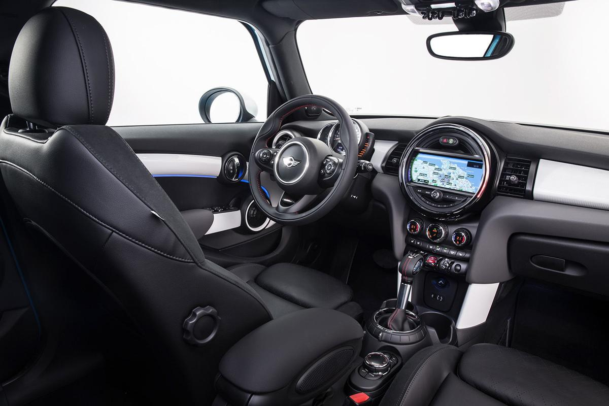 Four doors with fun: New, more practical version of Mini