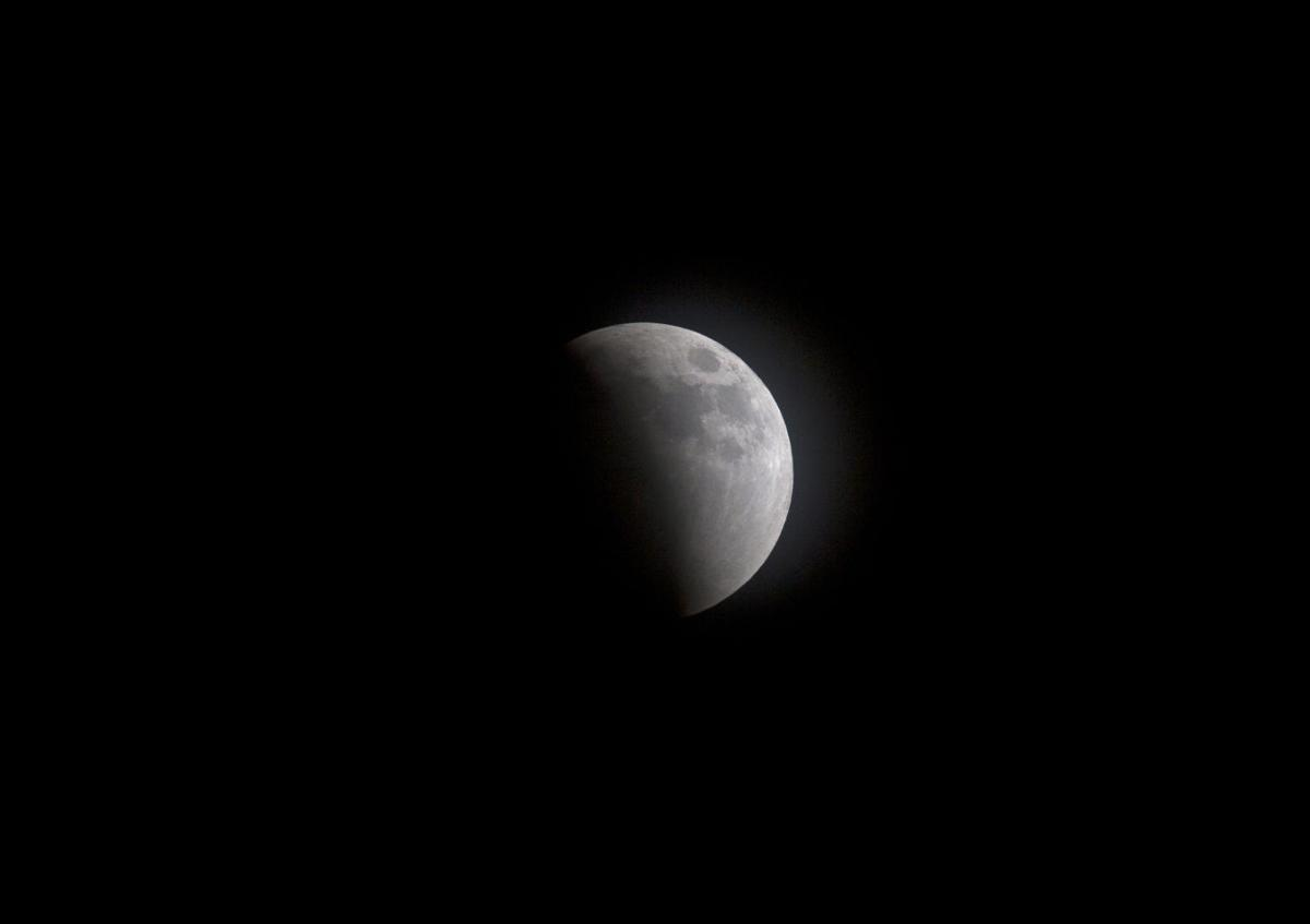 Haiti Supermoon Lunar Eclipse