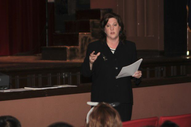 Clark Middle School students celebrate Law Day (copy)