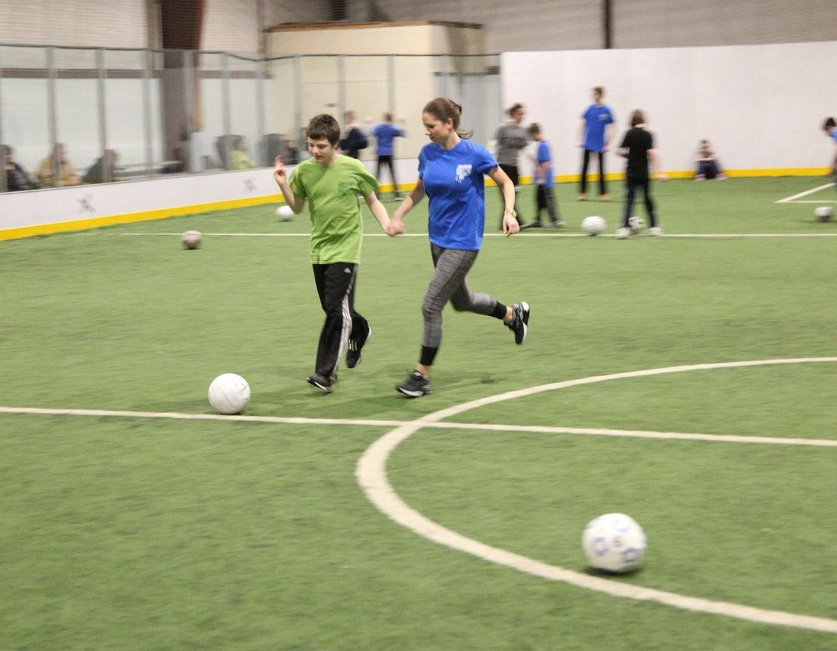 The TOP Soccer program for children with disabilities is a team effort