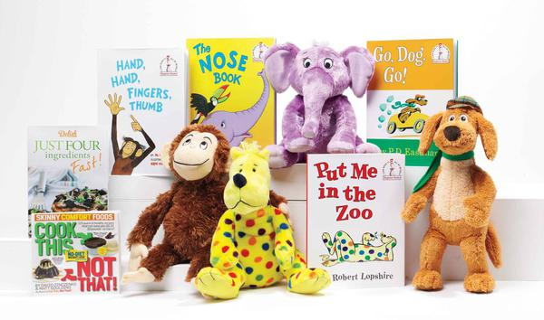"""Kohl's Cares """"The Beginner Books Collection"""" by Assorted Authors, Books and Plush Toys"""