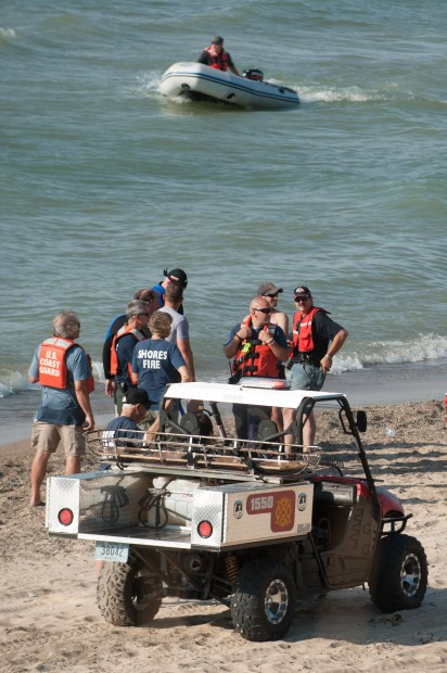 Man reported missing in Lake Michigan at Beverly Shores