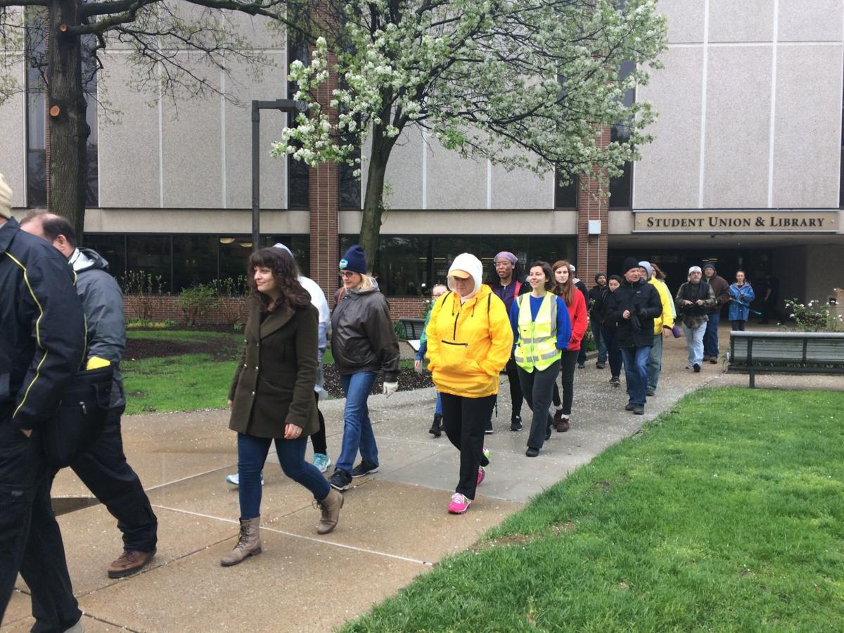 Activists highlight environmental risks, injustices during Walk the Line rally