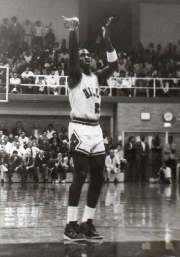 Michael Jordan at EC Washington