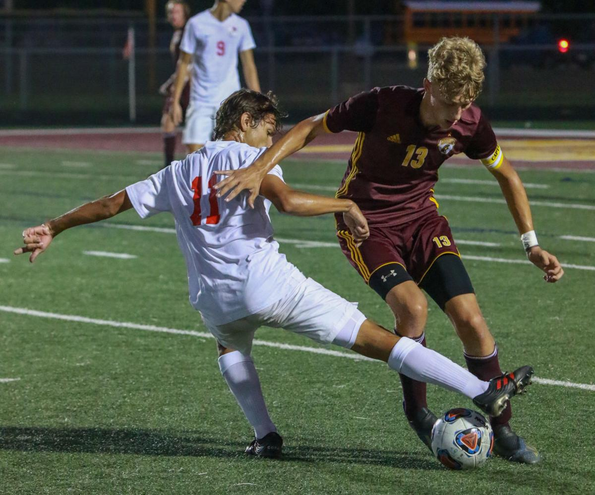 Boys soccer - Crown Point at Chesterton