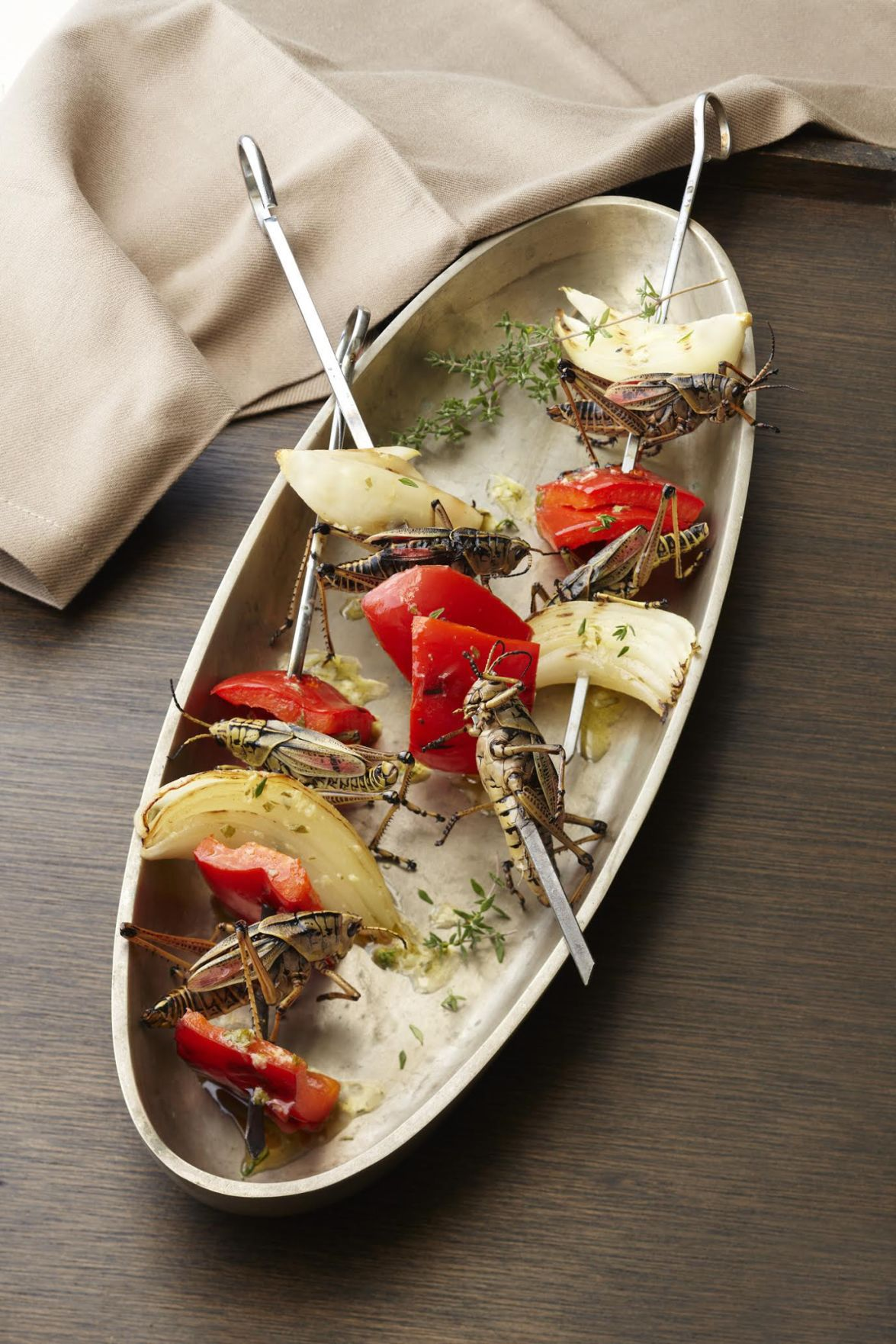 Adventurous eaters enjoy novelty, nutritional benefits of insects