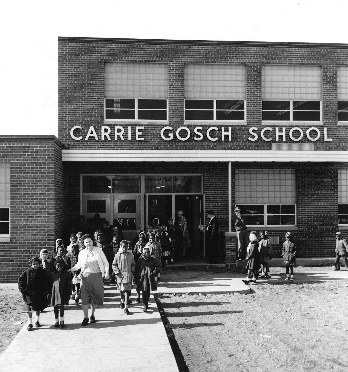 Carrie Gosch building, opened in 1959