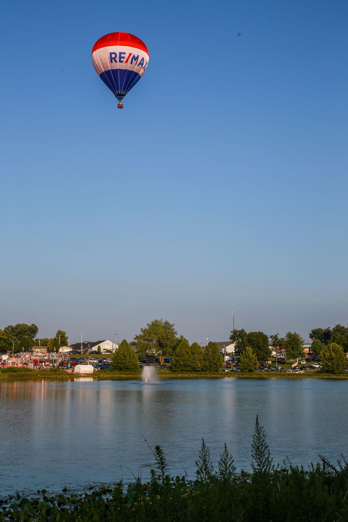 Fair attendance and a balloon ride