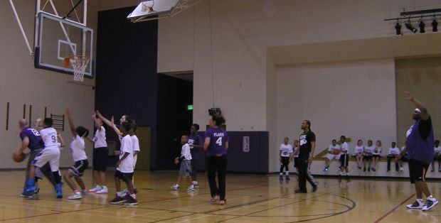 MIS hosts annual PTO Student-Faculty Basketball Family Night