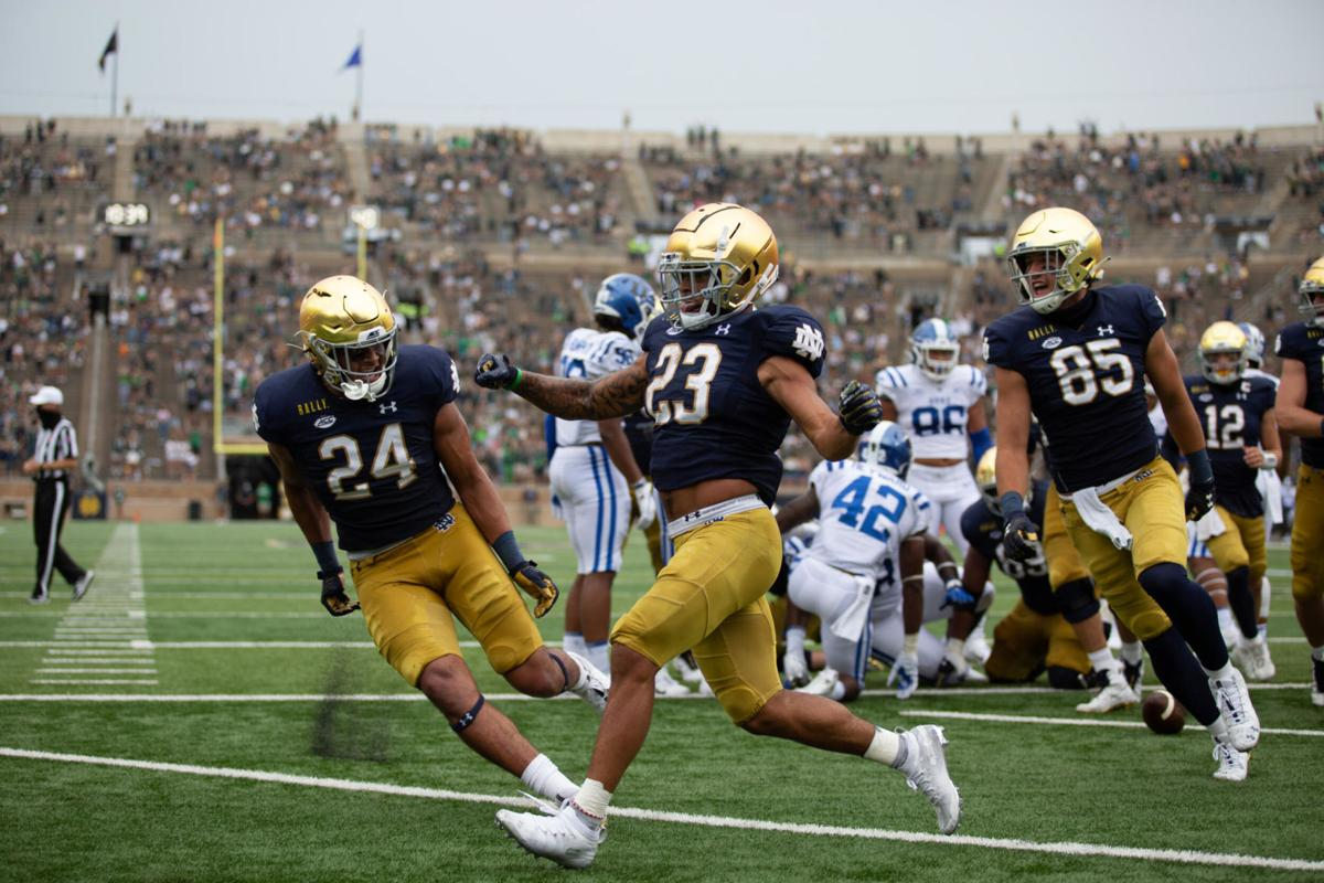 Williams Crawford Lead No 5 Notre Dame Past Florida State Notre Dame Fighting Irish Football Nwitimes Com