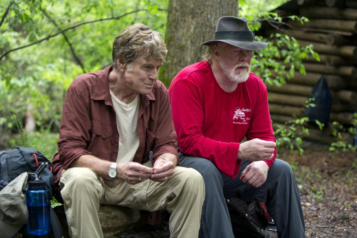 Redford And Nolte In Bryson S A Walk In The Woods Entertainment Nwitimes Com