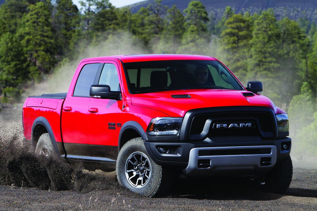Dodge dodge 1500 off road : Ram 1500 Rebel: Combining an off-road style into a full-size truck ...