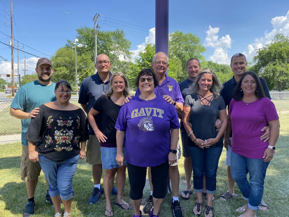 Family of high school sweethearts from Gavit Middle/High School