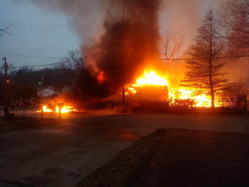 Cedar Lake home burns in Saturday morning fire | Lake County