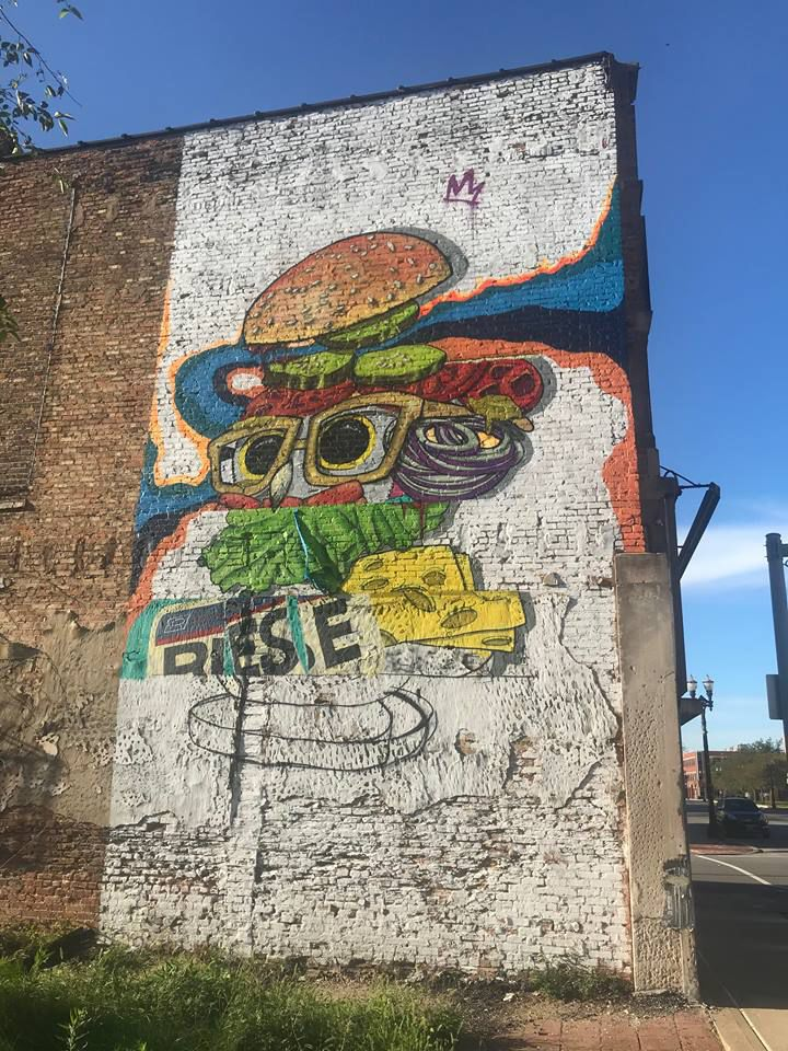 #PaintGary project has splashed color on abandoned buildings in downtown Gary