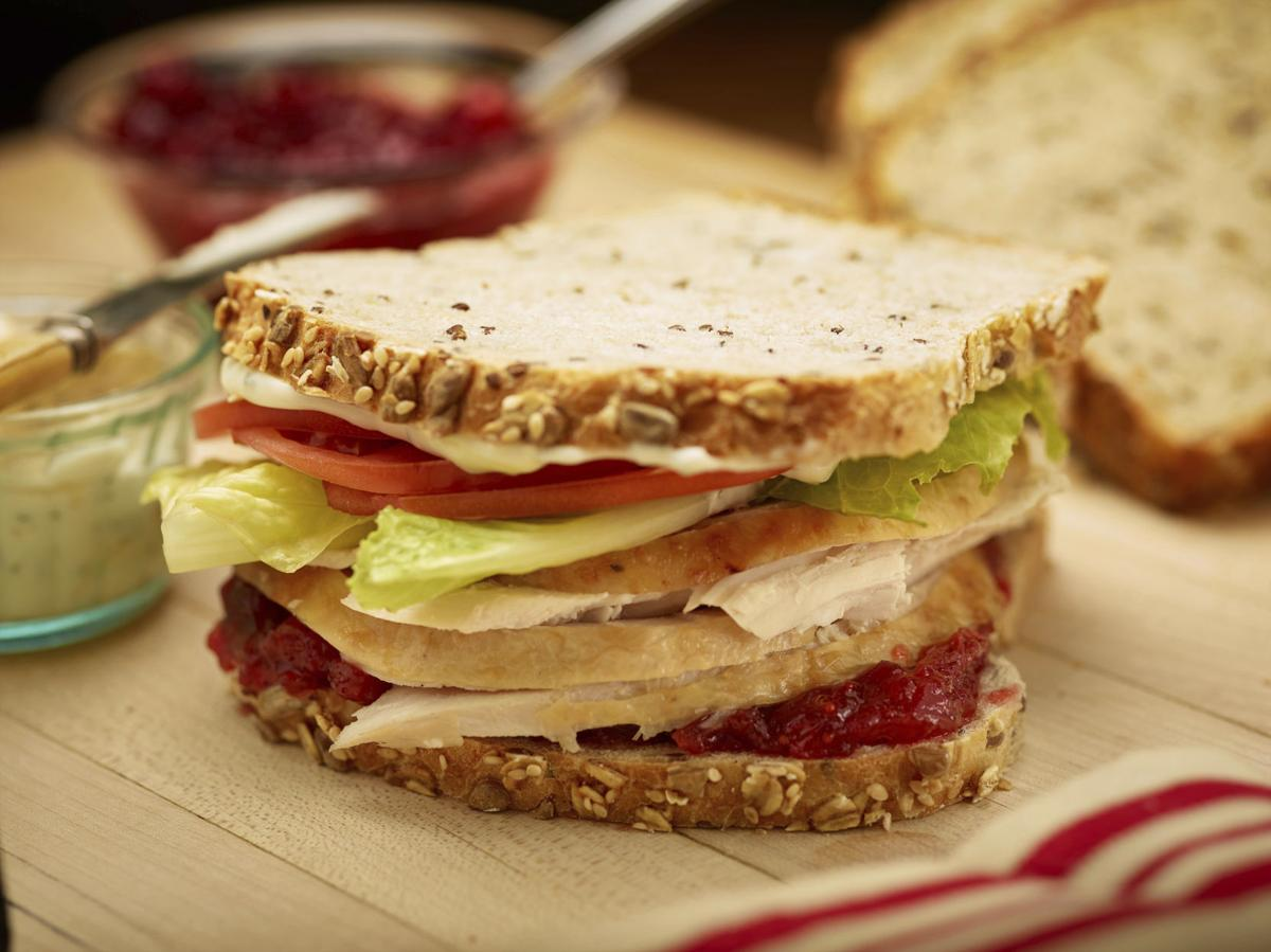 Food Culinary Institute of America Thanksgiving Sandwich
