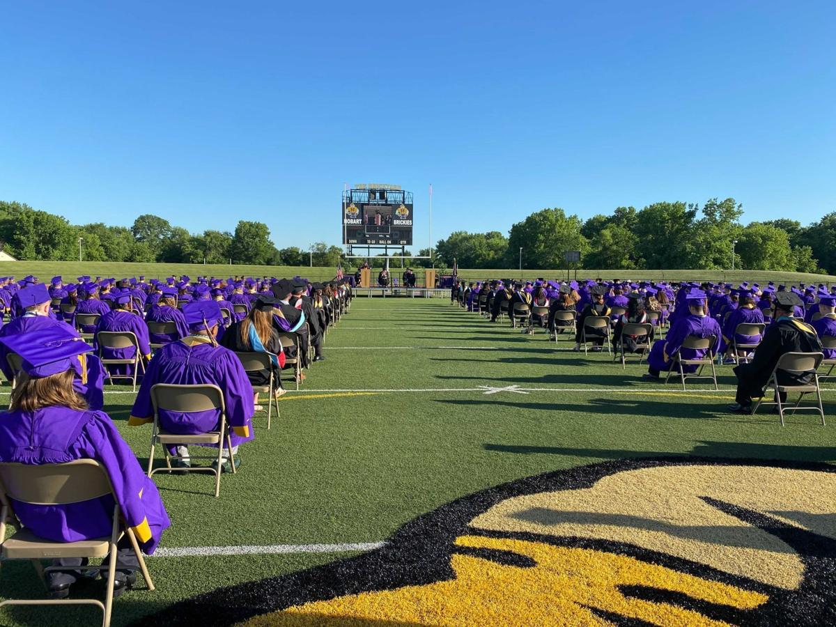 Hobart High School graduation 2021