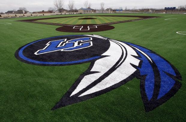 Lake Central baseball turf