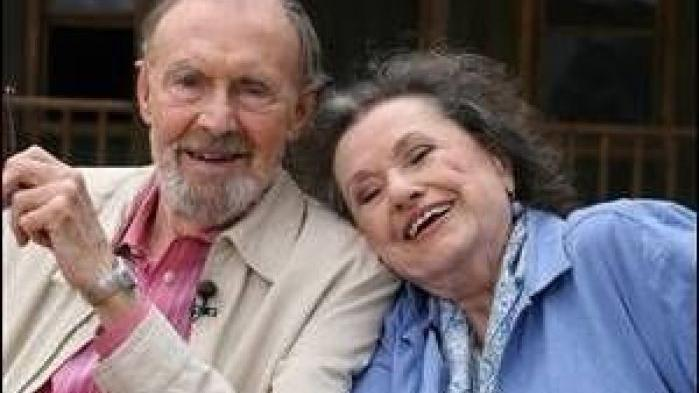 Actor Richard Bull Reunited With His Tv Wife Katherine